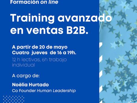 Training avanzado en ventas B2B