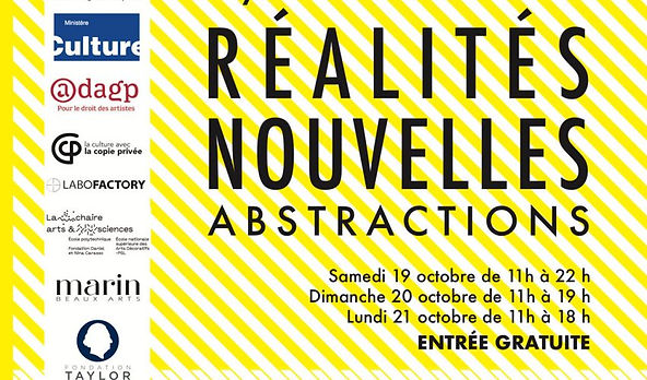 Collective Exhibition Art Fair New Realities 2019 Paris Abstractions