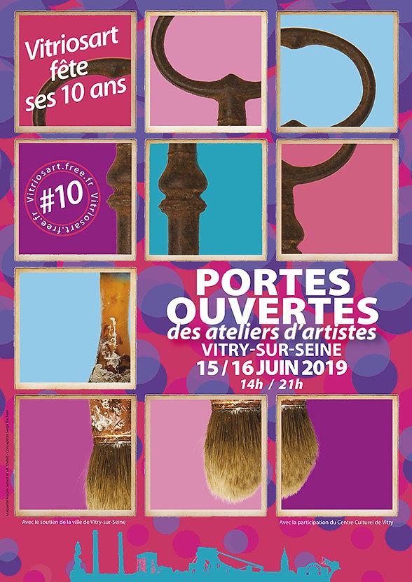 Vitry-Sur-Seine Artists Studio Open Days June 2019 Vitriosart celebrates its 10th anniversary http://www.vitriosart.free.fr