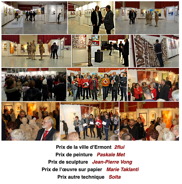 Arami Exhibition 2019 Paskale MET Painting Prize City of Ermont Val d'Oise