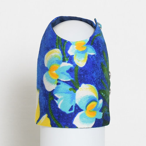 1960's Blue Hawaiian dog vest #1