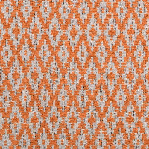 Bespoke Orange and White Diamond
