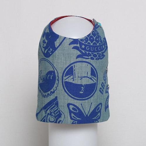 Gucci blue on blue denim vest #6