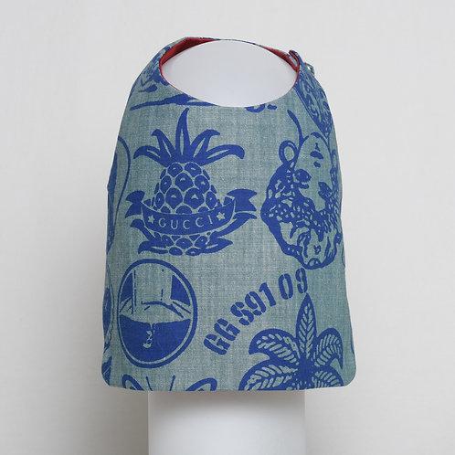 Gucci blue on blue denim vest #7
