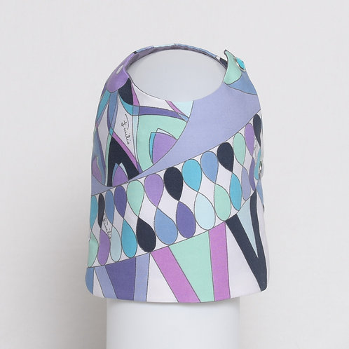 Emilio Pucci cotton vest with figure eights