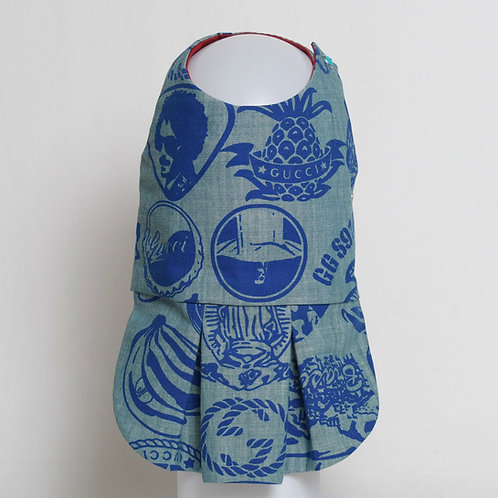 Gucci blue on blue denim dress #2