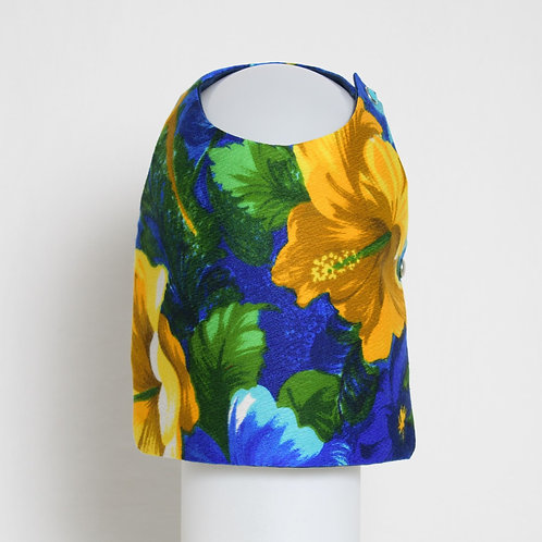 1960's Blue Hawaiian dog vest #3