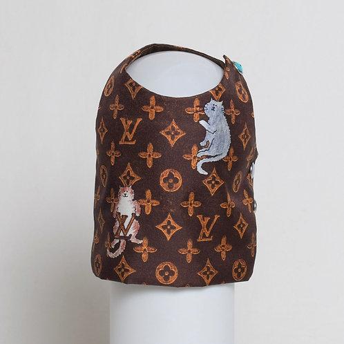Louis Vuitton Grace Coddington brown silk vest #3