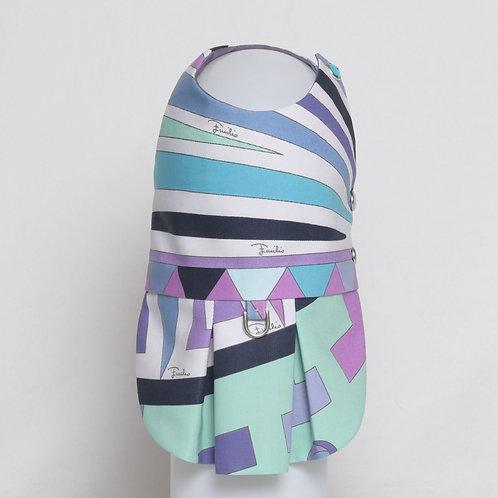 Emilio Pucci cotton dress with blocks of color