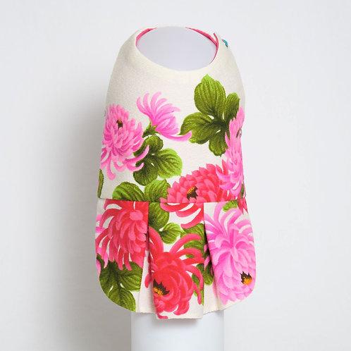 1960's Pink Chrysanthemum Kiku dog dress #6