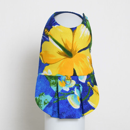 1960's Blue Hawaiian dog dress #4