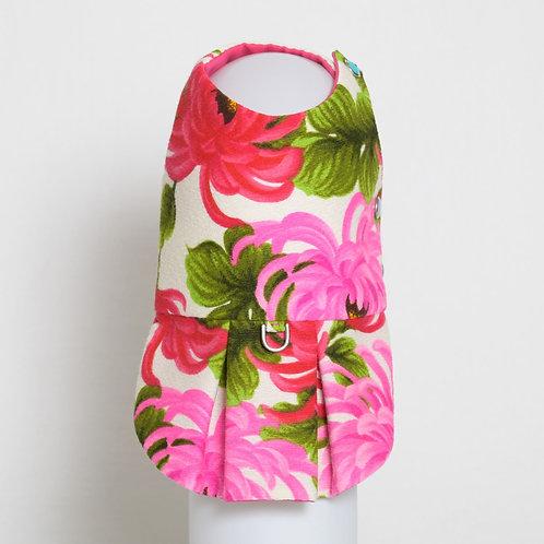 1960's Pink Chrysanthemum Kiku dog dress #3