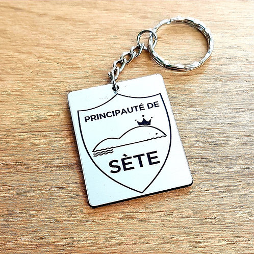 porte clefs Principauté de Sète