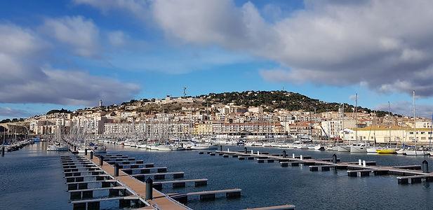principauté de Sète, port de Sète, ville de Sète