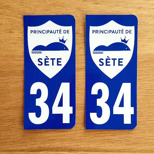 Stickers voiture x 2