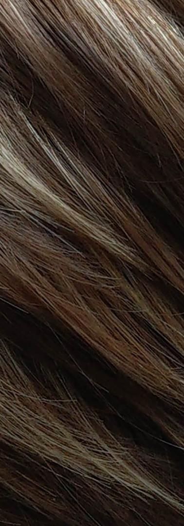 dark chocolate and cream hair colour