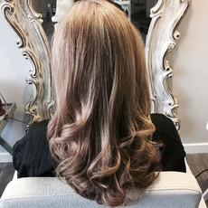 A beautiful cut and Blowdry on this love