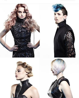 hair styling and cutting collection