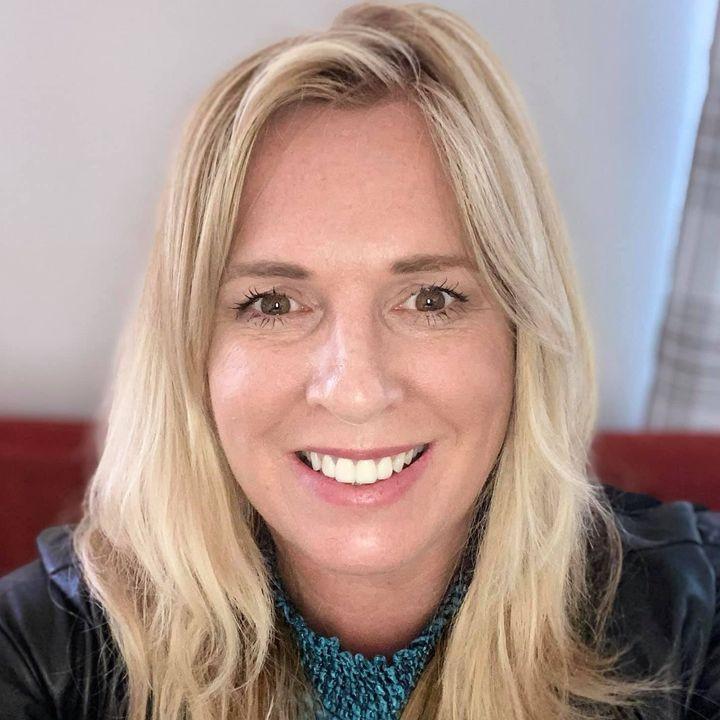 Martine Rodda owner of Demoda Organic Hair & Beauty Redruth