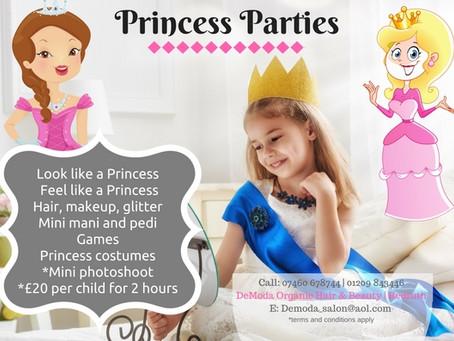 Princess Pamper Parties for Children