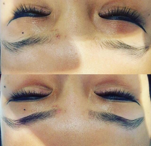 eyebrow tidy and tint