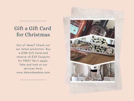 Gift and Gift Card for Christmas and Receive £100 in coupons for FREE!