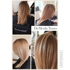 Root stretch and cut #hairandbeautytruro