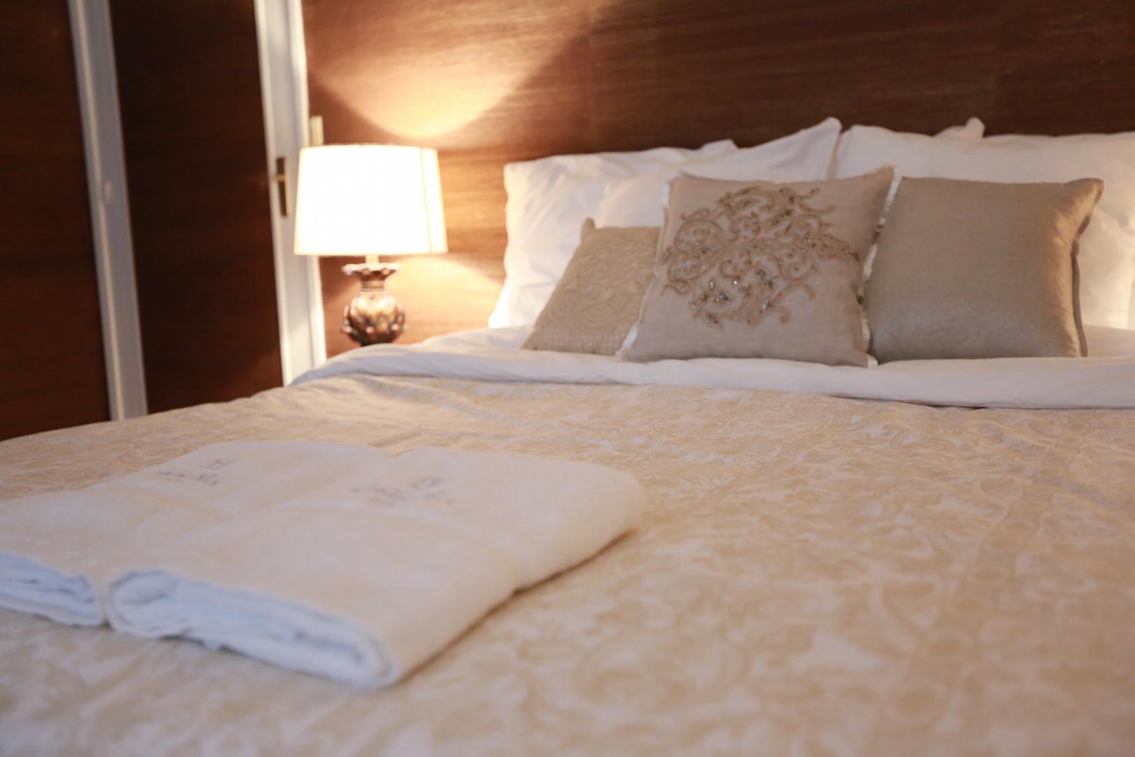 침대 수건