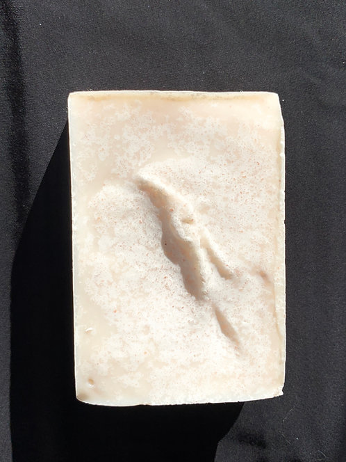 Blessed sea salt goat milk soap