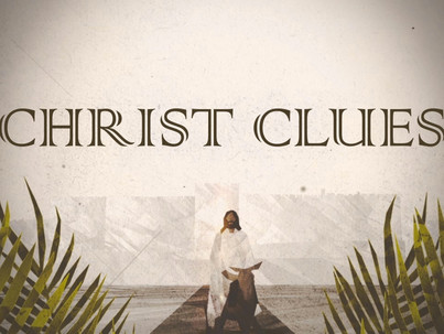 Christ Clues: God Is In the Details
