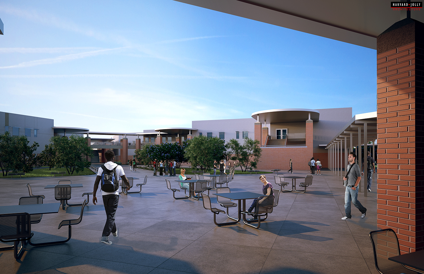 Largo High School Rendering