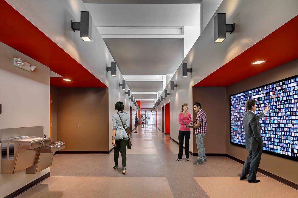 SHS Hallway After