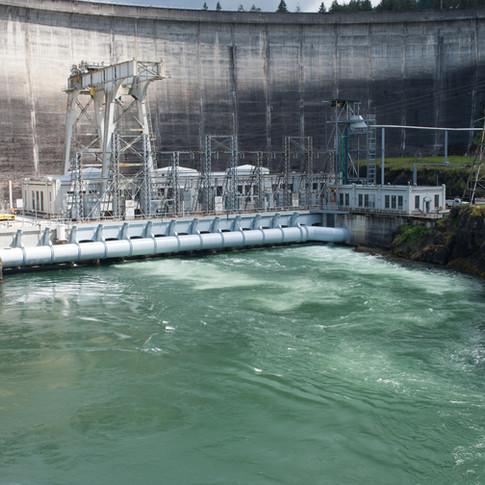 Construction Progress Dam Retrofit Completion
