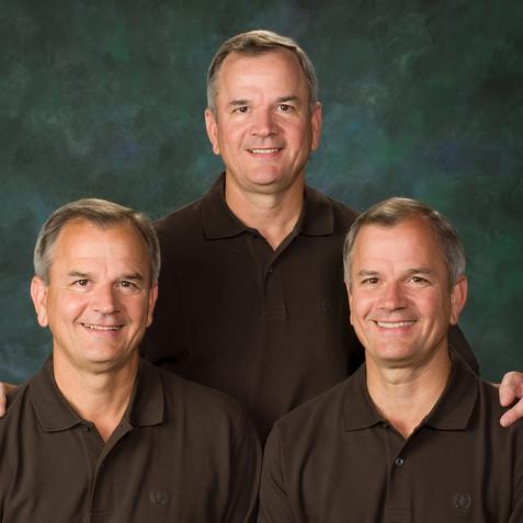 Triplets Portrait