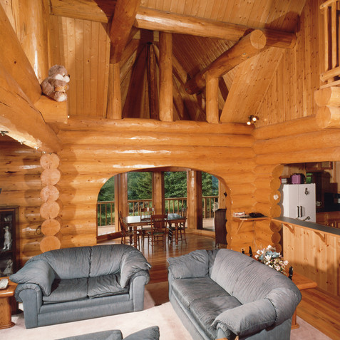 Architectural Log Home