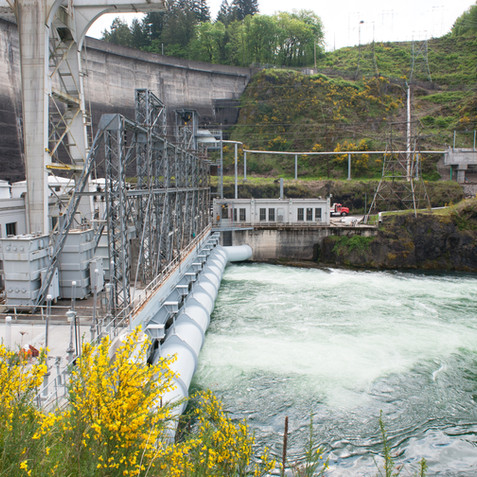 Construction Progress Dam After Retrofit