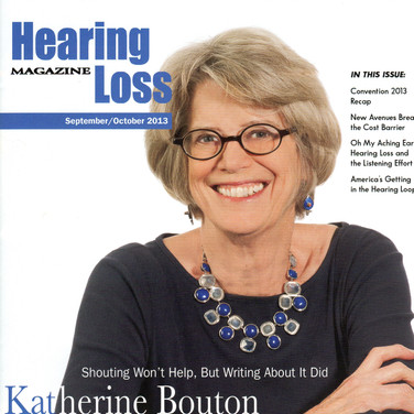 Hearing Loss Magizine Cover
