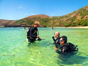Hawaii Hanauma Bay scuba dive