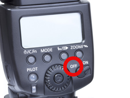 The key to making your flash look natural is to TURN IT OFF FIRST.