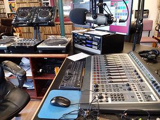 WMFO Studio A Console