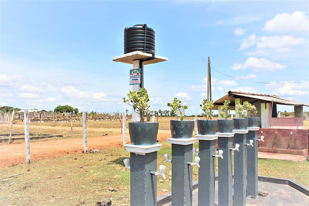 Ablution Place in Sri Lanka