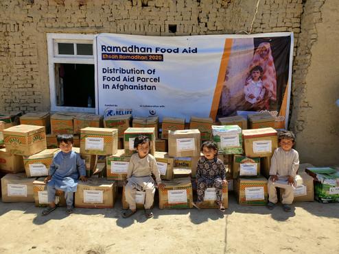 Food Aid Pack in Afghanistan