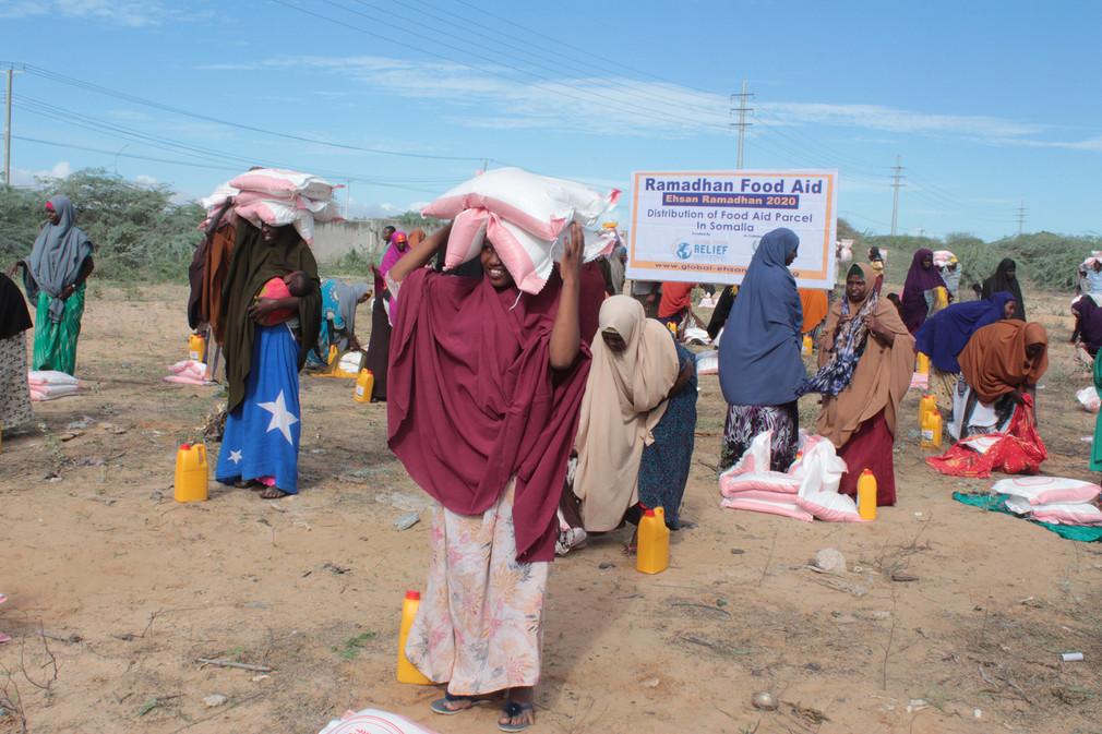 Food Aid Pack in Somalia