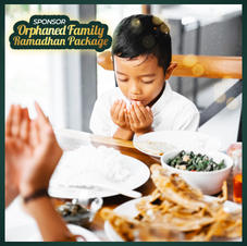 Orphaned Family Ramadhan Package