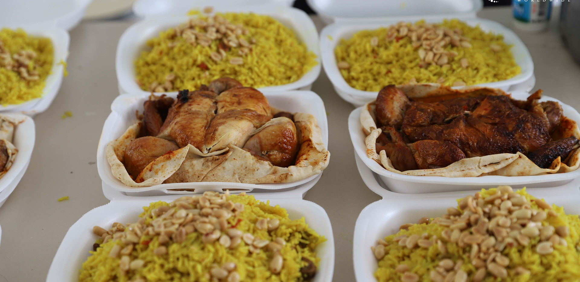 Meal Distribution for Syria Refugees