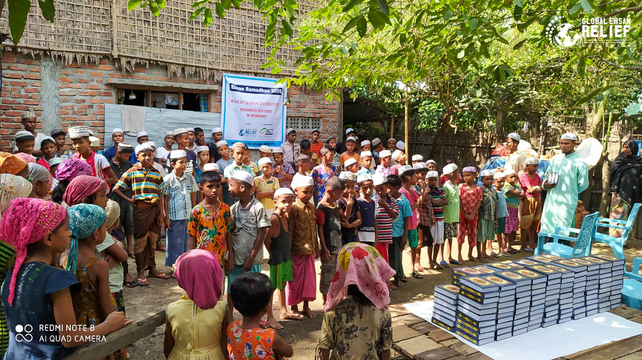 For Rohingya Refugees in Myanmmar3_2020.