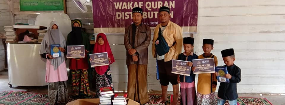 Quran Distribution in Aceh