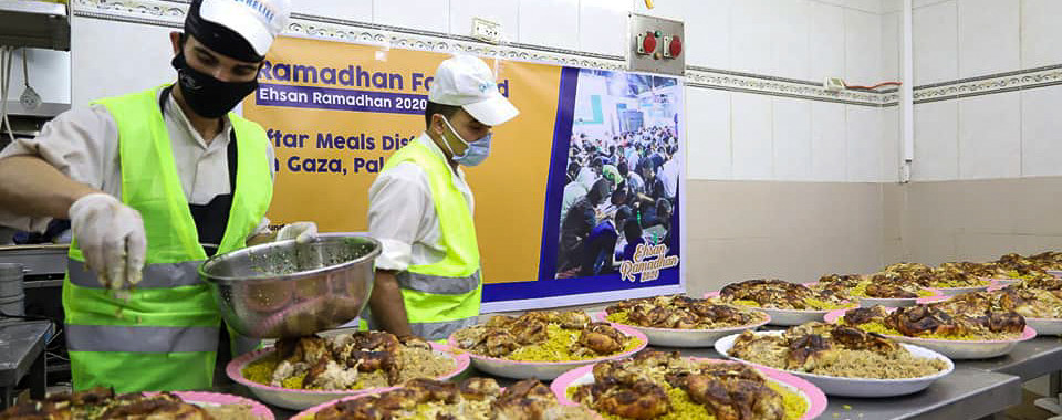 Iftar Meals Distribution