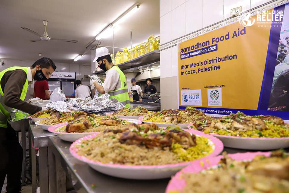 Iftar Meals Distribution