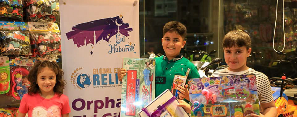 Orphans Eid Gifts
